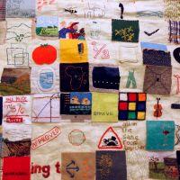 Clare Danek stitch journal