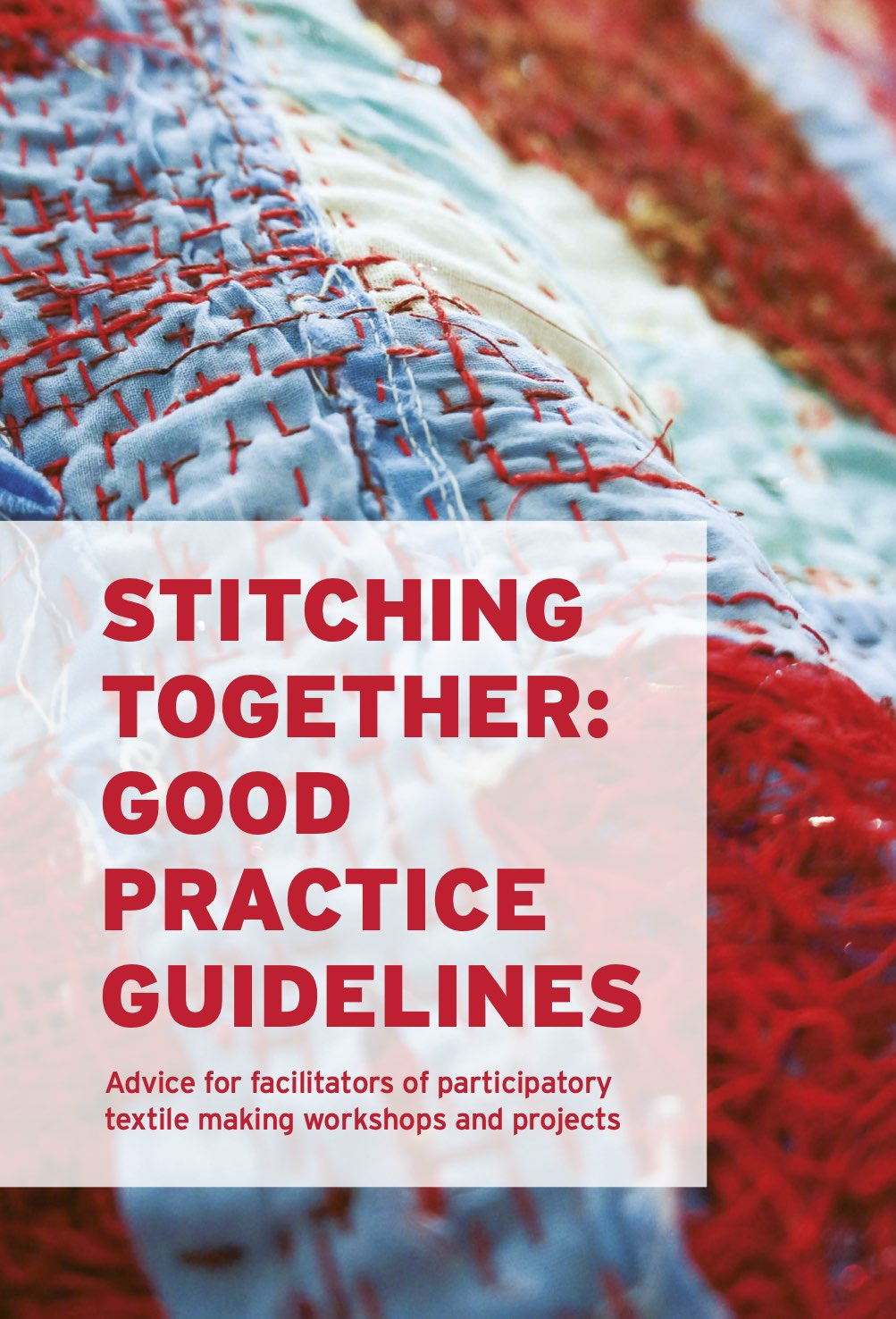 Cover of Stitching Together Good Practice Guidelines publication